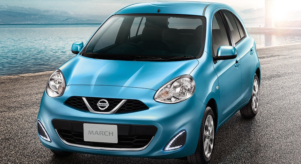 2016 Nissan Micra Facelift Thailand
