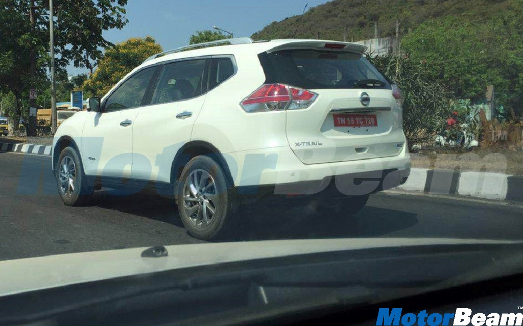 2016 Nissan X-Trail Spotted Testing In Chennai | MotorBeam - Indian ...