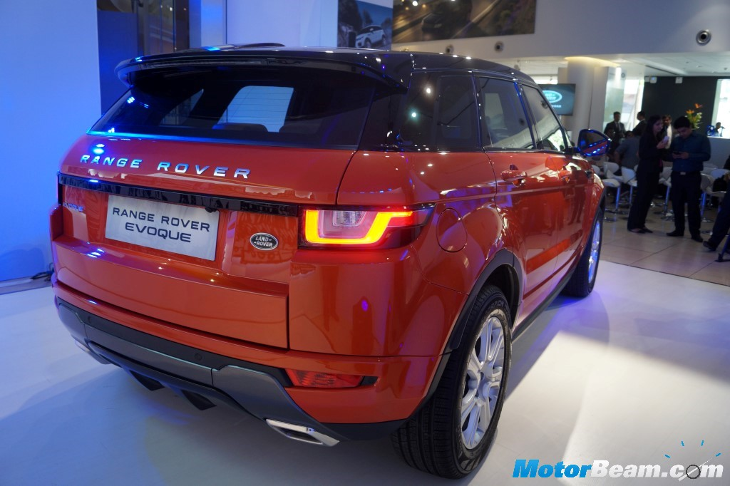 2016 Range Rover Evoque Launched Priced From Rs 47 1 Lakhs