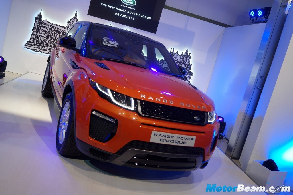 2016 Range Rover Evoque Launched In India
