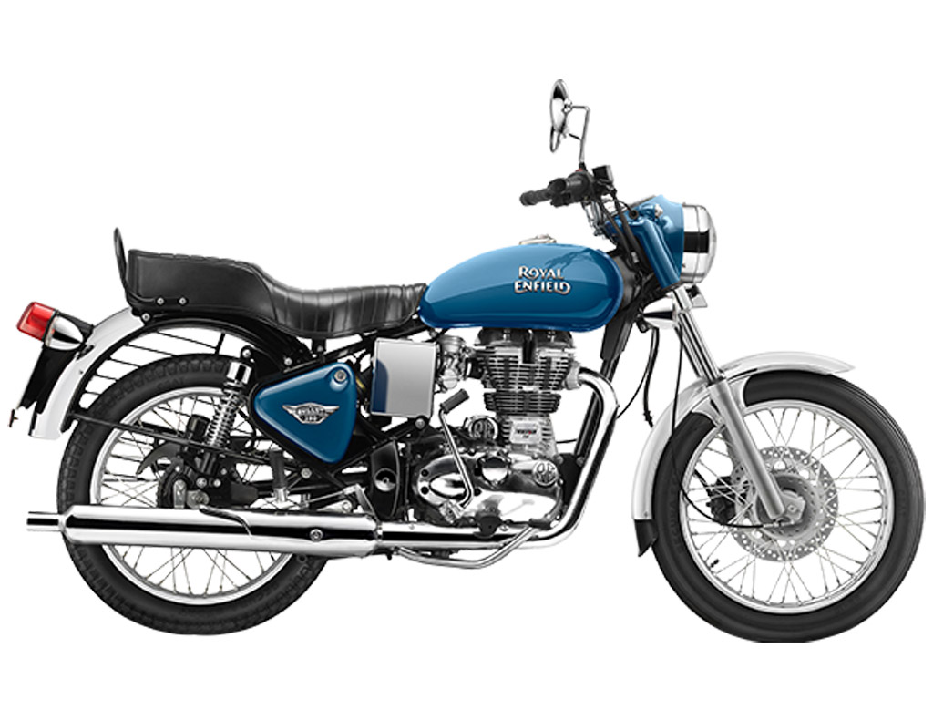 Royal Enfield Bullet Electra Blue