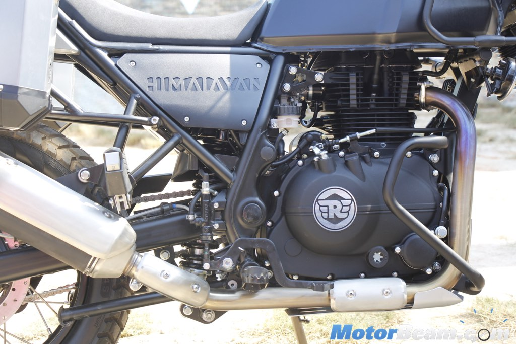 2016 Royal Enfield Himalayan Engine