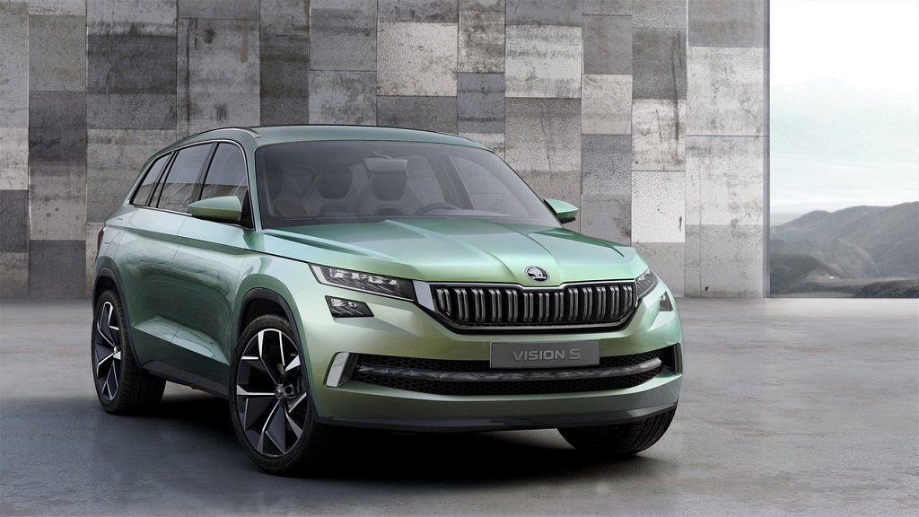 2016 Skoda VisionS Front