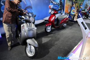 2016 Suzuki Access 125 Colours
