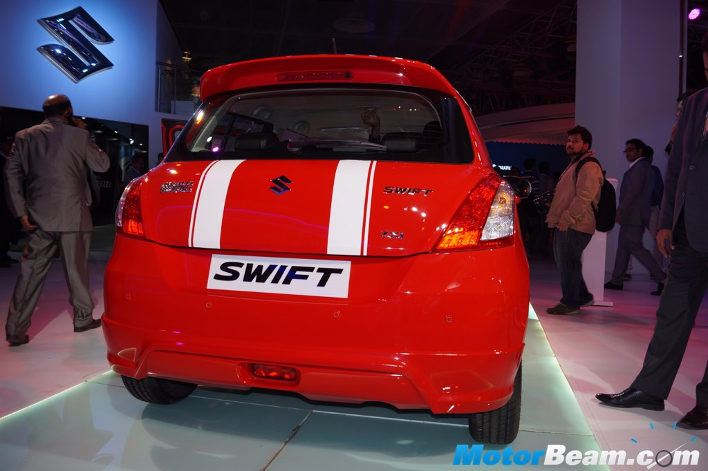 2016 Swift Special Edition Rear