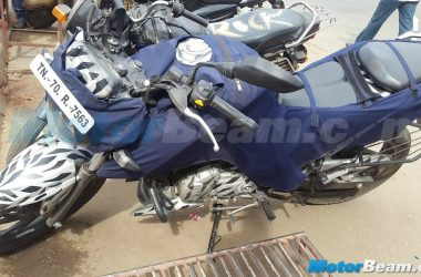 Production Ready 2016 TVS Apache 200 Caught Testing In Bangalore
