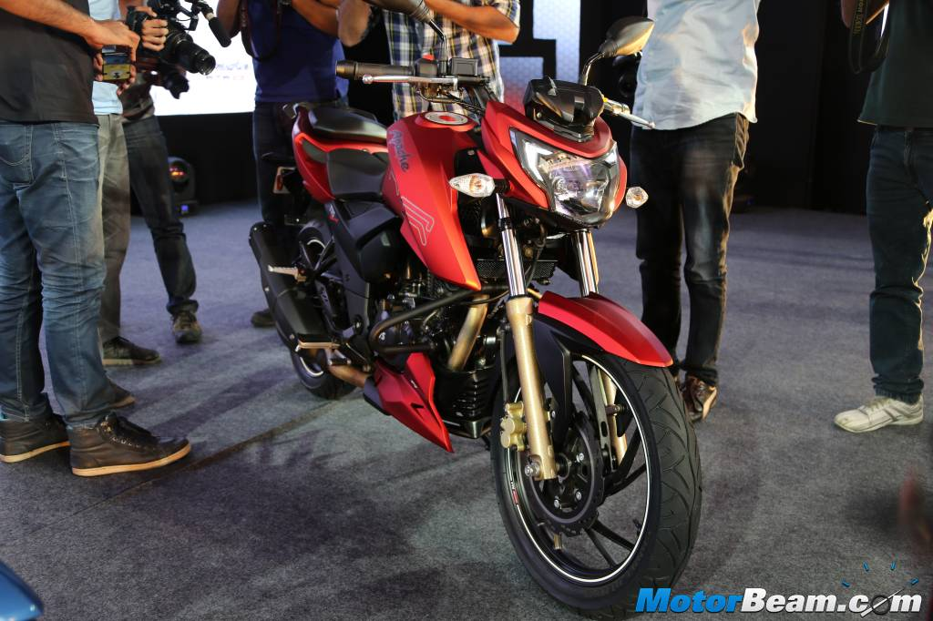 2016 TVS Apache 200 Launch