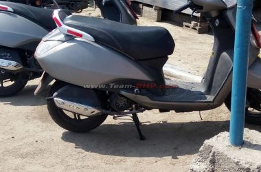 TVS Jupiter With Disc Brake & Fuel Injection Spied In Coimbatore