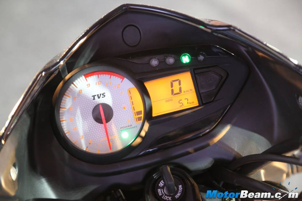 2016 TVS Victor Instrument Console