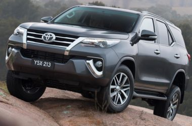 2016 Toyota Fortuner Bookings Open Ahead Of Launch