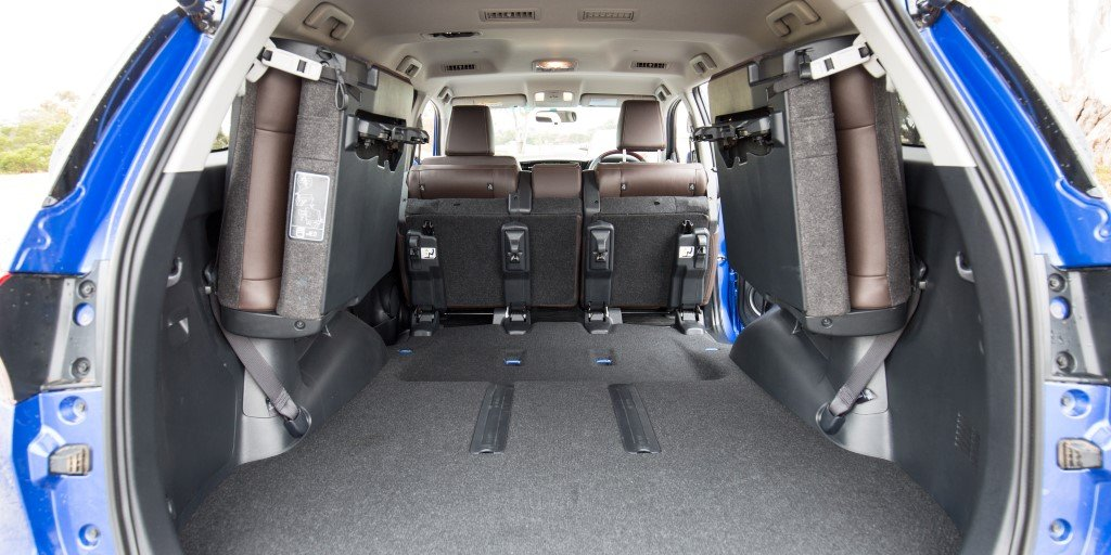 2016 Toyota Fortuner Boot Space