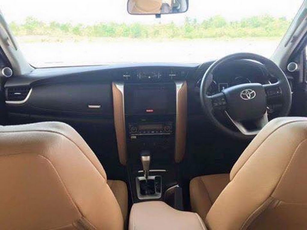 2016 Toyota Fortuner Interior Leaked