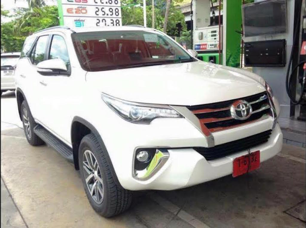 2016 Toyota Fortuner Leaked Specfications
