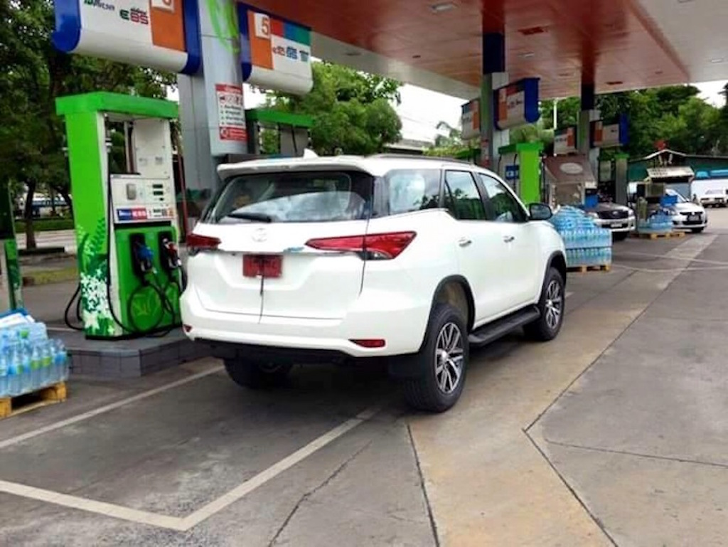 2016 Toyota Fortuner Tail Light Cluster Leaked