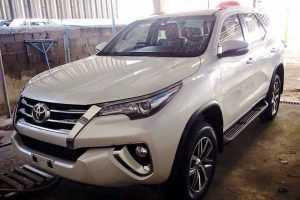 2016 Toyota Fortuner Thailand Leaked