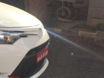 2016 Toyota Vios Spied Front
