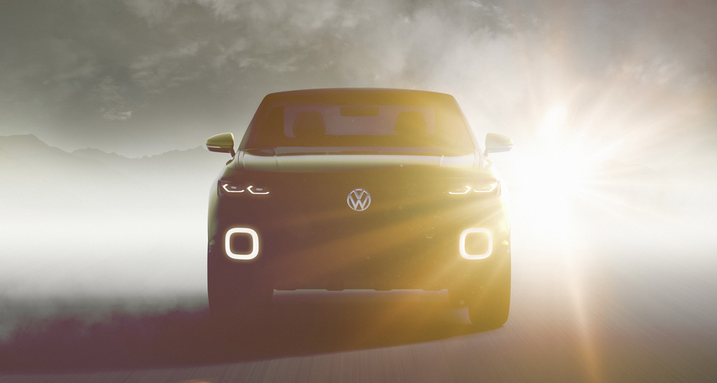 2016 VW Subcompact Crossover Front