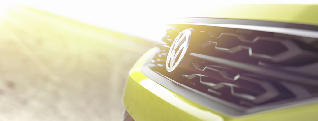 2016 VW Subcompact Crossover Grille