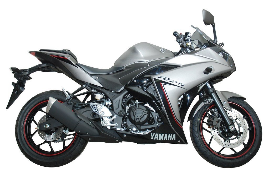 2016 Yamaha R25 ABS Grey