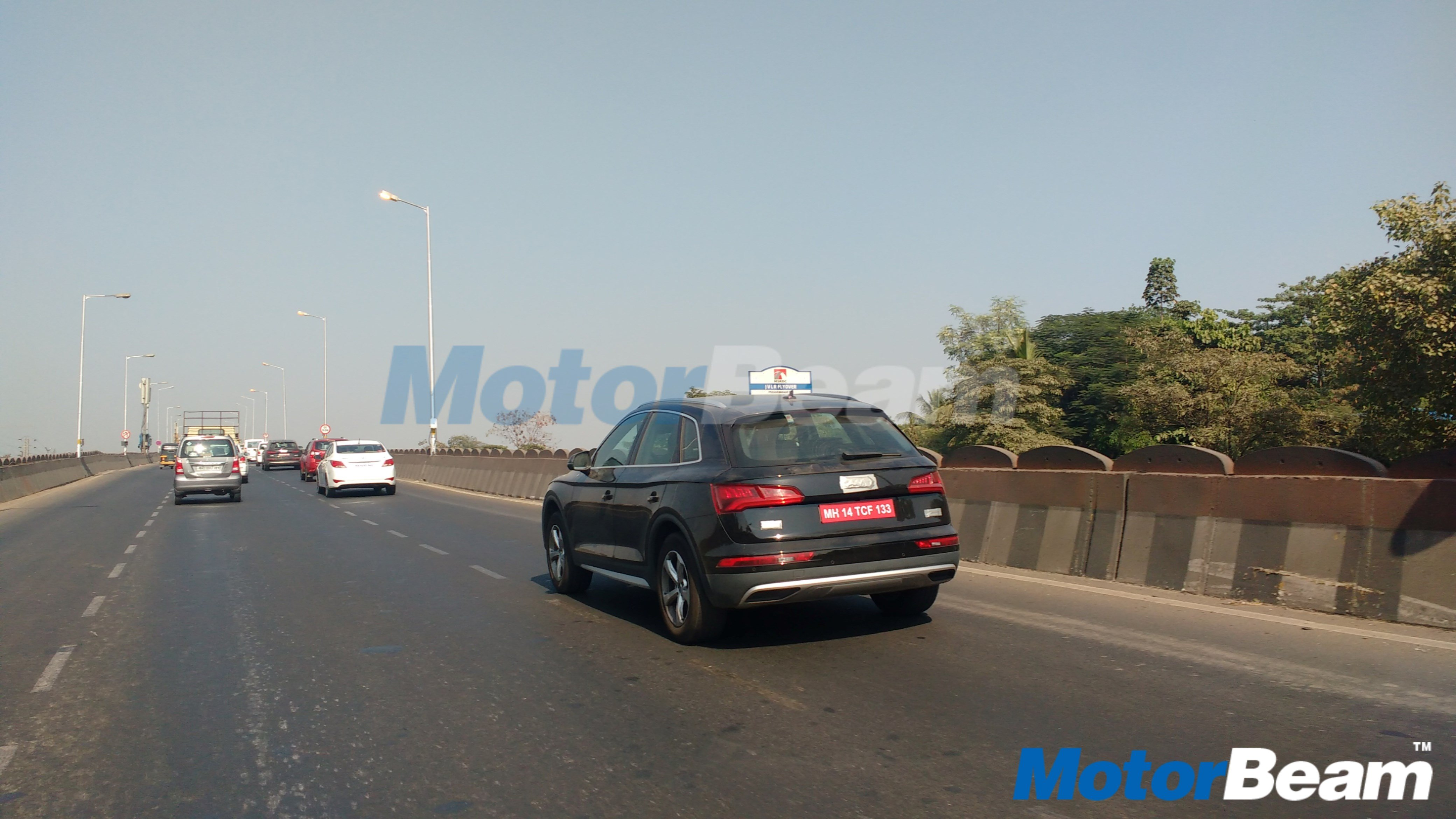 2017 Audi Q5 Spotted