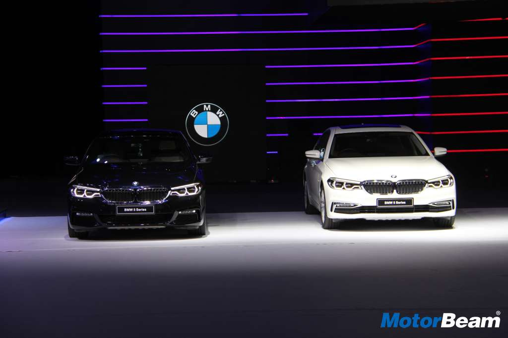 2017 BMW 5-Series India Launch