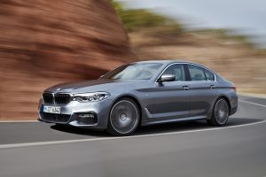 2017 BMW 5 Series Left Side
