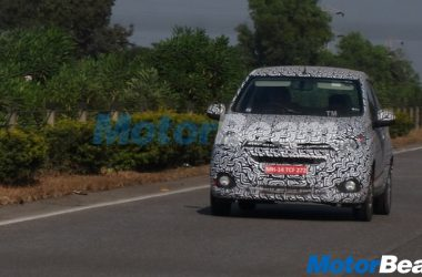 2017 Chevrolet Beat Activ Spied Again