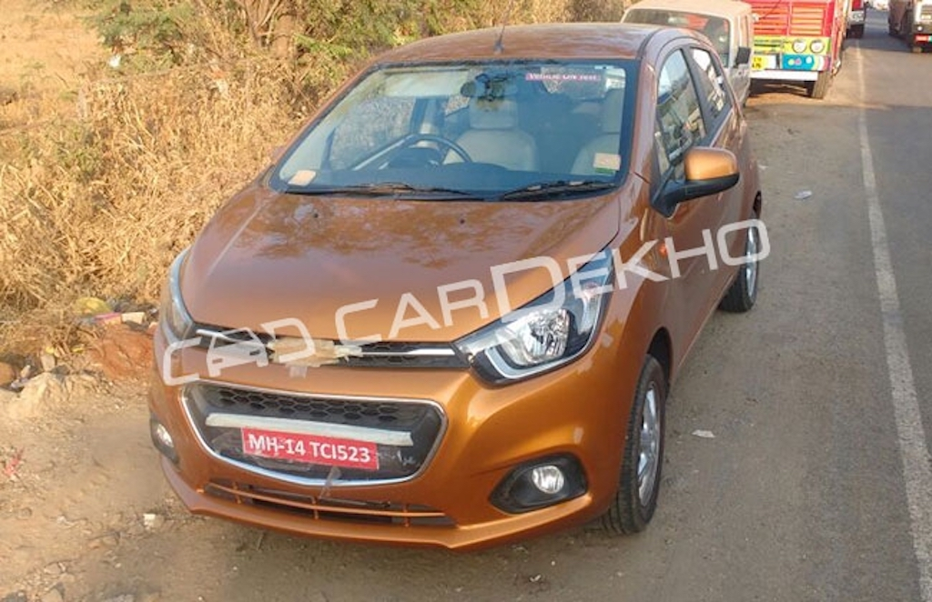 2017 Chevrolet Beat Facelift Front