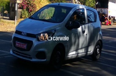 2017 Chevrolet Beat Facelift Spied Undisguised