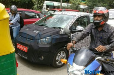 2017 Chevrolet Beat Spotted In India On Test
