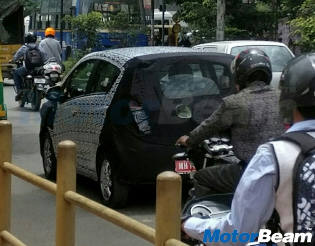 2017 Chevrolet Beat Spotted Rear