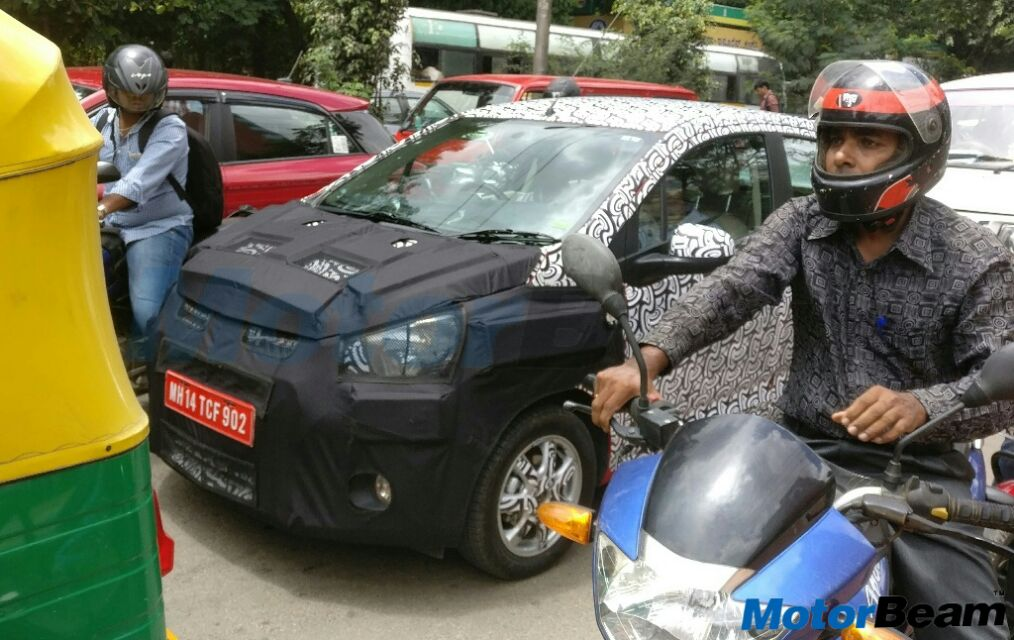 2017 Chevrolet Beat Spotted