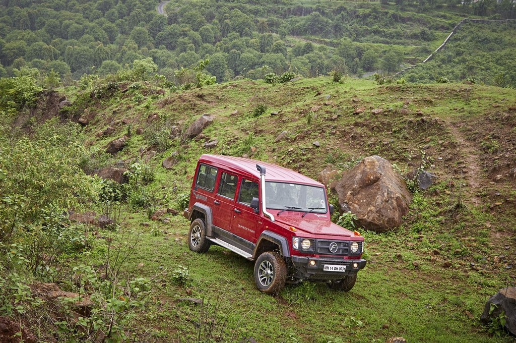 2017 Force Gurkha Xpedition Front