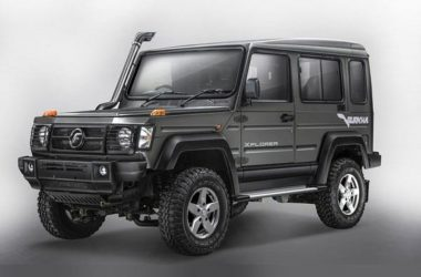 2017 Force Gurkha Launched, Priced From Rs. 8.38 Lakhs