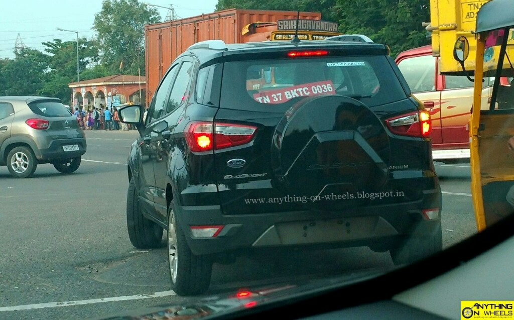 2017 Ford EcoSport Caught Testing