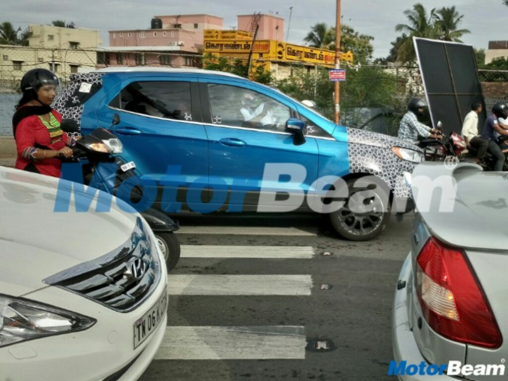 2017 Ford EcoSport On Test