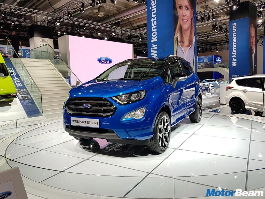 2017 Ford EcoSport ST-Line Front And Side