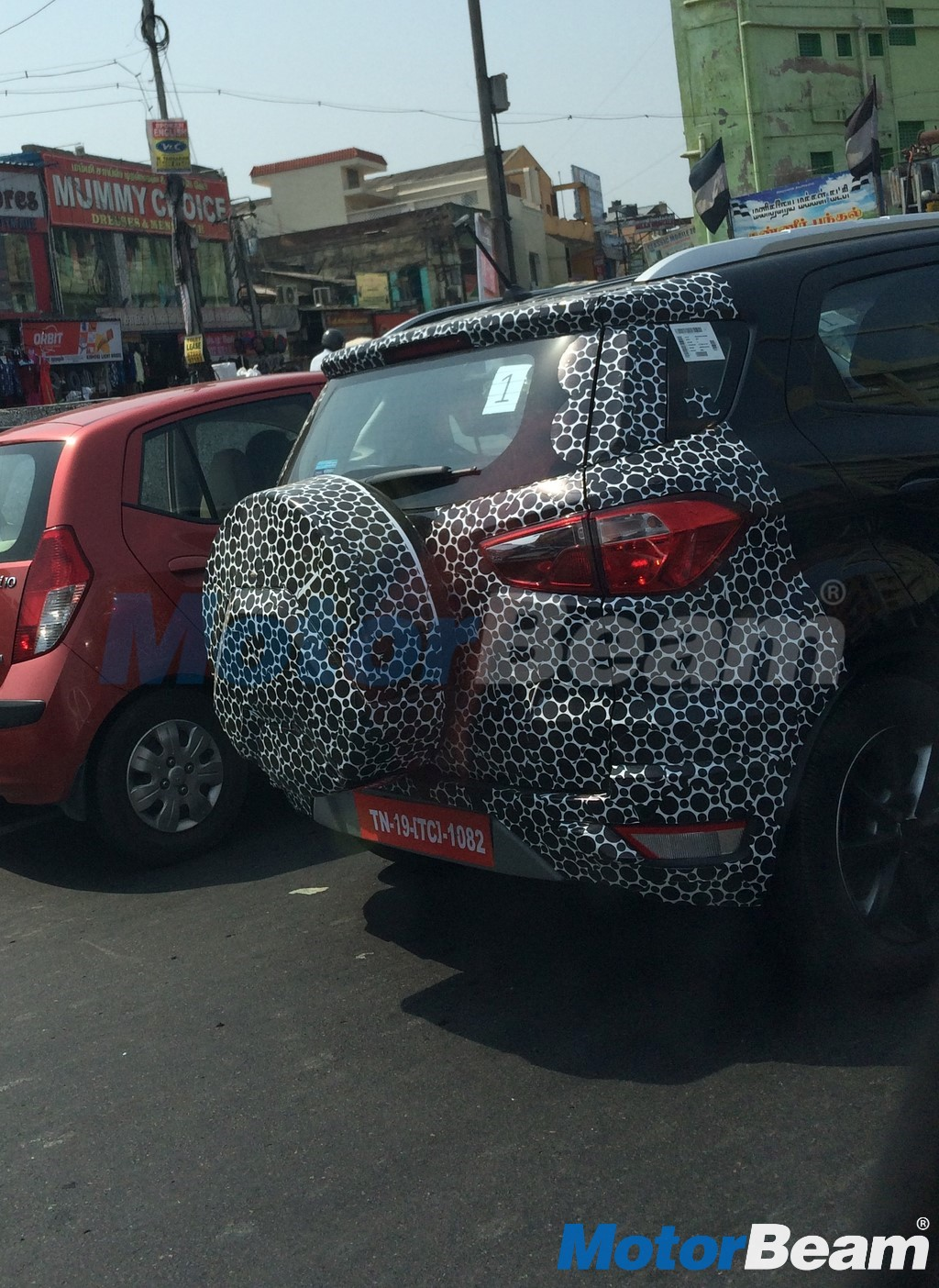 2017 Ford EcoSport Spotted Testing
