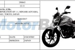 2017 Honda 100cc bike Patented