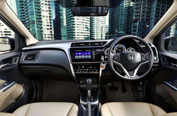 2017 Honda City Dashboard