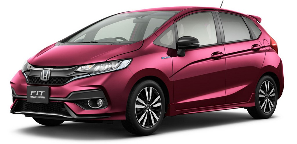 2017 Honda Jazz Unveiled In Japan