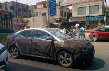 2017 Hyundai Verna Spotted On Test, Launch In August