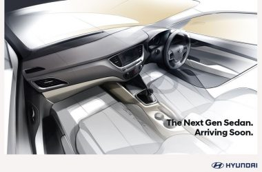 2017 Hyundai Verna Interior Sketch Revealed Ahead Of Launch