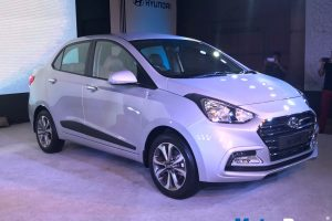 2017 Hyundai Xcent Launch Front