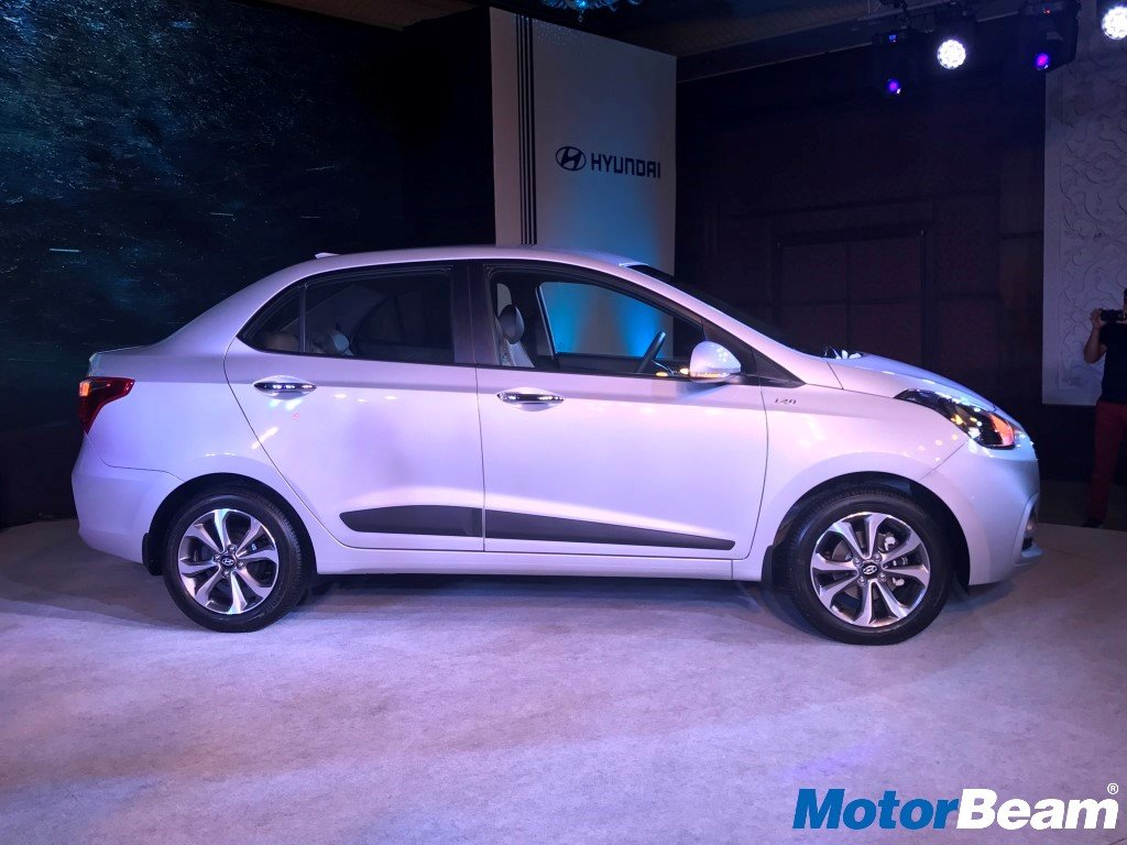2017 Hyundai Xcent Launch Side
