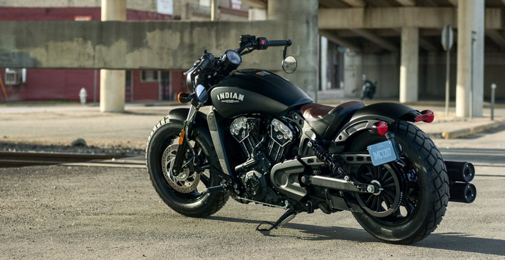 2017 Indian Scout Bobber Thunder Black