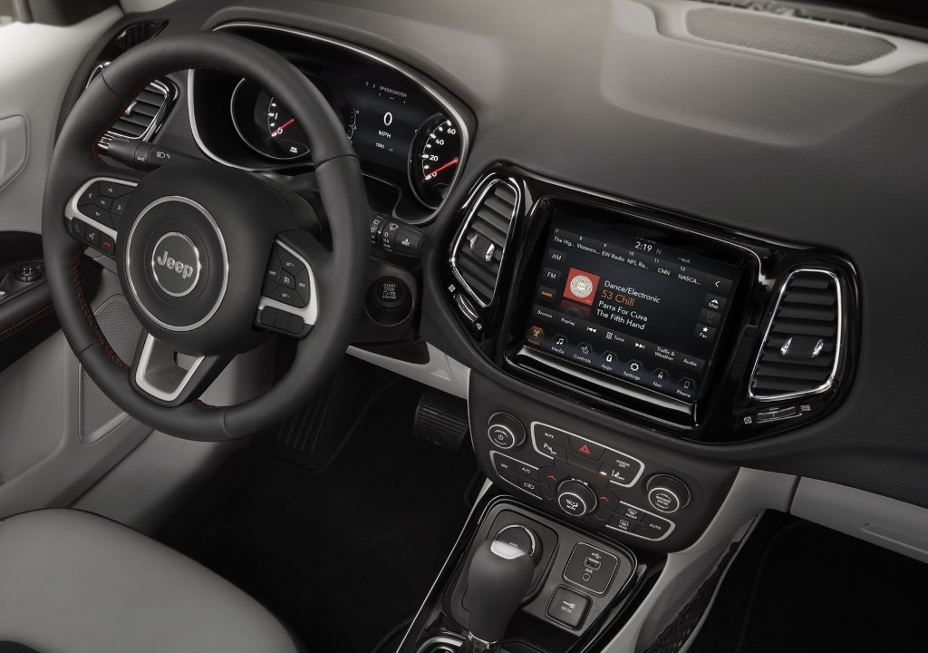 2017 Jeep Compass Interiors
