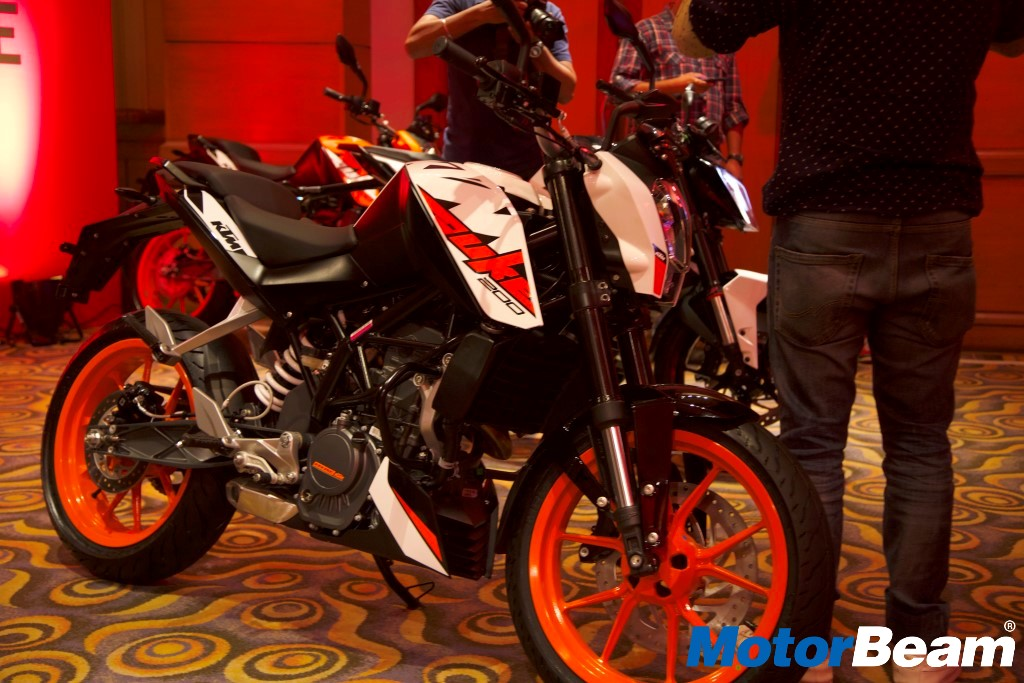2017 KTM Duke 200 Launch