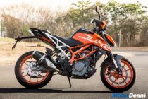 2017 KTM Duke 390 Colours