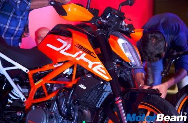 2017 KTM Duke 390 Launched, Priced At Rs. 2.25 Lakhs [Live]